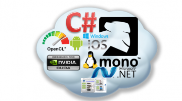 Combine C-Sharp With CUDA and OpenCL On Linux, iOS, Android and Windows