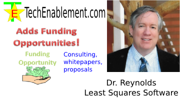 TechEnablement Adds Funding Opportunity Posts via Dr. William Reynolds