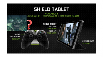 NVIDIA Shield 2 will be a tablet (with stylus) as well as a gaming device!