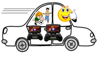 Extreme Test – NVIDIA Shield Portals Two 9-year Old Boys Through 20-hour Road Trip