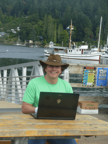 """Using my MSI WS60 at a """"fair weather"""" office location"""