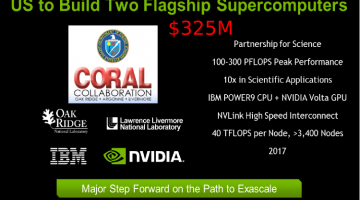 Inside The IBM NVIDIA Volta plus NVlink 2017 Delivery for $325M DOE Procurements