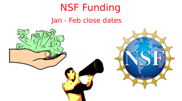 Nine NSF Funding Opportunities