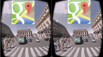 Google Maps Adds Virtual Reality