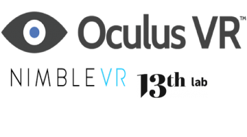 Oculus Buys Nimble VR and 13th Lab