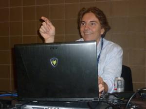 Rob Farber teaching at his SC14 tutorail