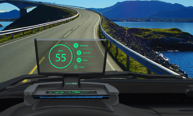 Heads Up Display In New Cars