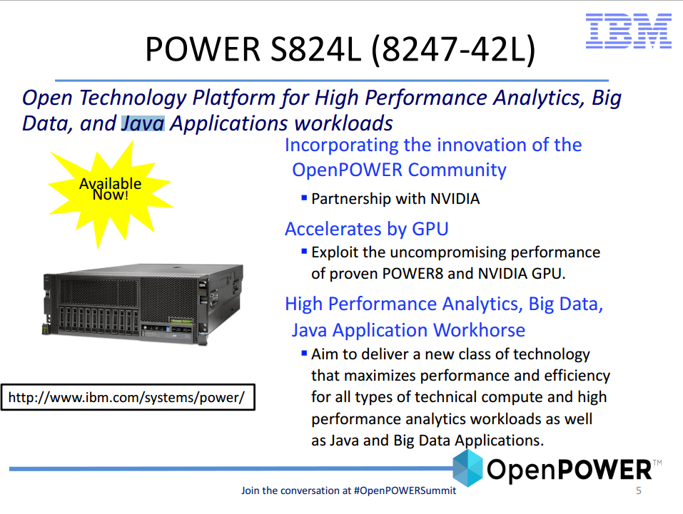 (image courtesy OpenPower http://openpowerfoundation.org/wp-content/uploads/2015/03/Li-Kelvin_OPFS2015_IBM_031315_final.pdf)
