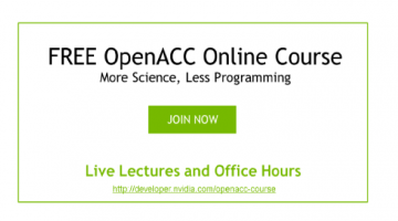 The First of NVIDIA's Free OpenACC Courses is Online!