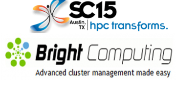 Bright Computing SC15 Announcement About Reducing the Complexity of On-Premises HPC