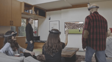 Microsoft Hololens Vision for Superbowl Sunday